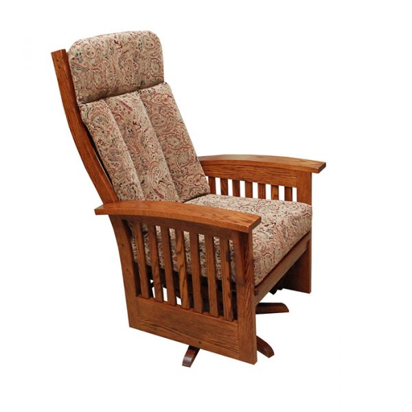 Deluxe Mission Swivel Glider Troyer Furniture