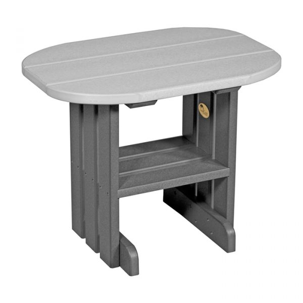End Table Dove Gray Slate. Category: Outdoor Furniture