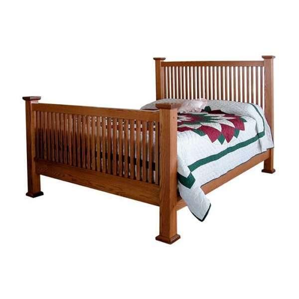 Mission 59 Slat Bed