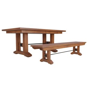 Taylor Dining Table Double with Bench