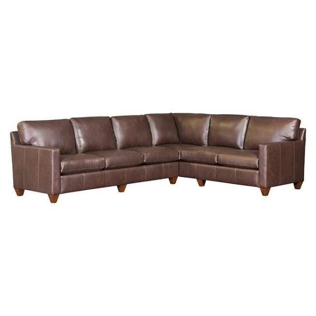 Mayo Sectional Salvdor 3830L RAF Leather Sofa