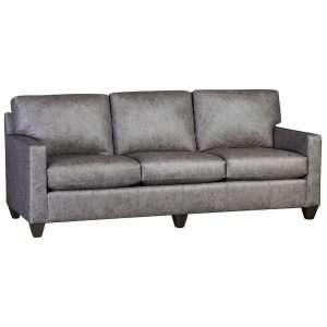 3830 Leather Sofa - Omaha Grey
