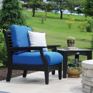 Classic-Terrace-Club-Chair---Black-with-Canvas-Capri-Cushions