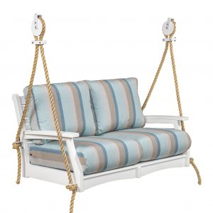 Classic Terrace Loveseat Swing