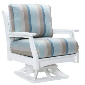 Classic Terrace Outdoor Swivel Rocker