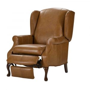 1051-leather-walnut-recliner-chair-lancer-2