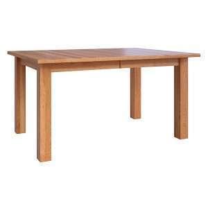 Amish Hardwood Dining Table