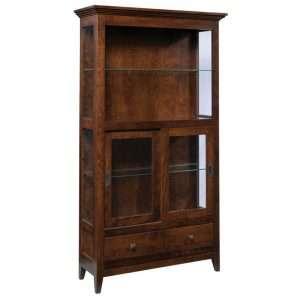 Savannah-2-Door-Hutch-w-Glass